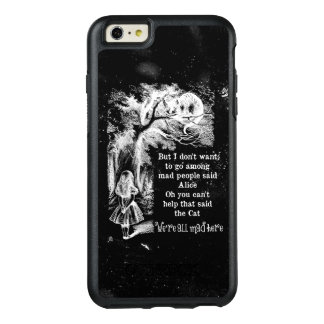 Alice in Wonderland; Cheshire Cat with Alice OtterBox iPhone 6/6s Plus Case