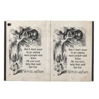 Alice in Wonderland; Cheshire Cat with Alice Powis iPad Air 2 Case