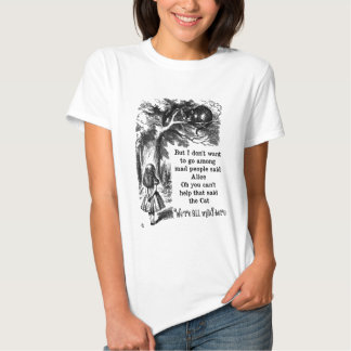 Alice in Wonderland; Cheshire Cat with Alice T Shirts