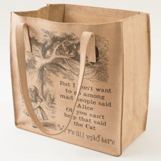Alice in Wonderland; Cheshire Cat with Alice Tote