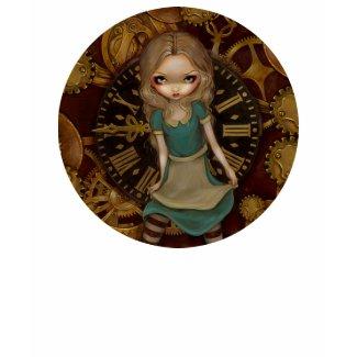 Alice in Wonderland Clockwork steampunk Shirt shirt