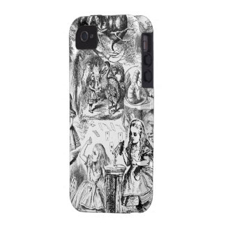 Alice in Wonderland Collage iPhone 4 Covers