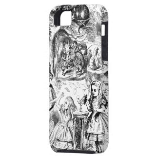 Alice in Wonderland Collage iPhone 5 Case
