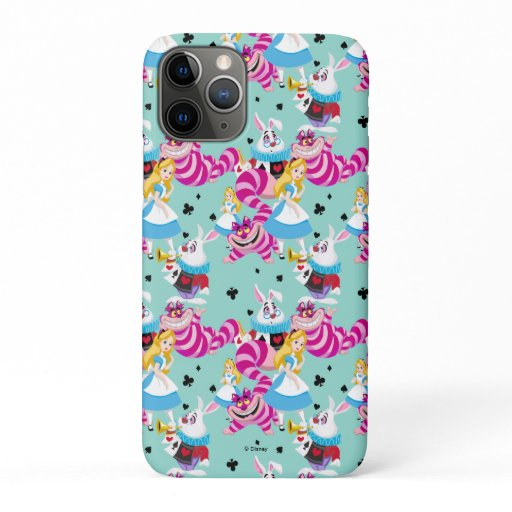 Alice In Wonderland | Colorful Fun Pattern iPhone 11 Pro Case