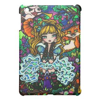 Alice in Wonderland Comic Fantasy Art Hannah Lynn iPad Mini Case