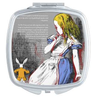 Alice in Wonderland Compact Mirror