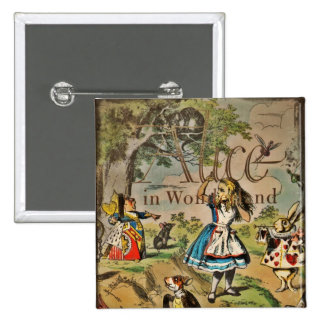 Alice in Wonderland Cover Buttons