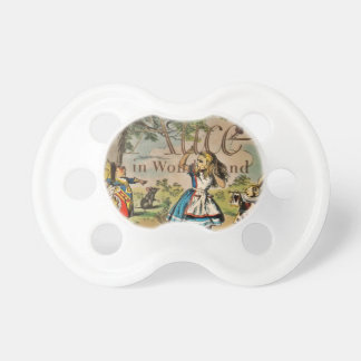 Alice in Wonderland Cover BooginHead Pacifier