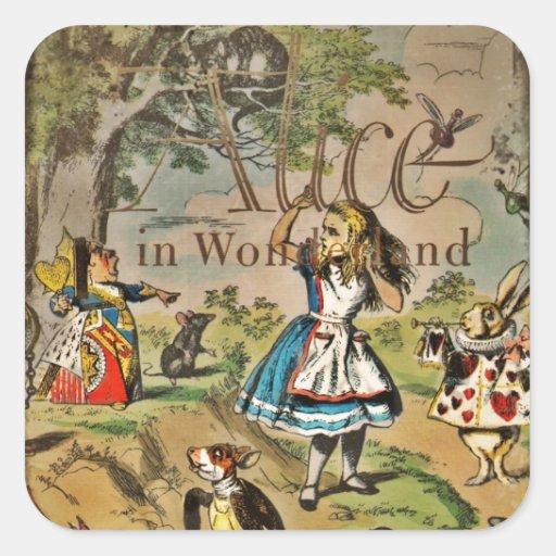 Alice in Wonderland Cover Sticker