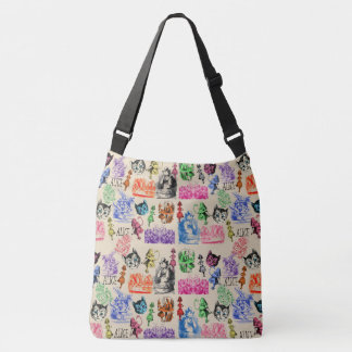 Alice in Wonderland Crossbody Bag