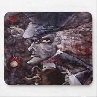 Alice in Wonderland Cubist MAD HATTER Mousepad