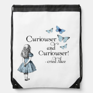 Alice in Wonderland Curiouser Butterfly Backpack