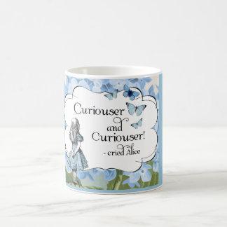 Alice in Wonderland Curiouser Hydrangea Mug
