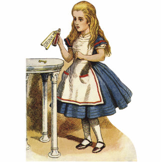 Alice in Wonderland Cutout Standup