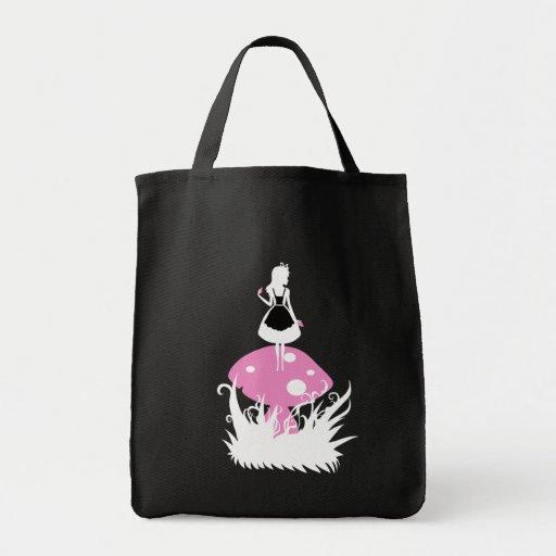 Alice in Wonderland Dark Bag