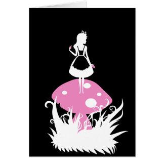 Alice in Wonderland  Dark Card