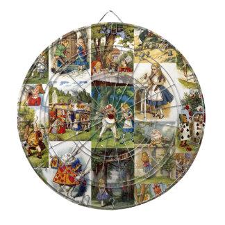 alice in wonderland dart board