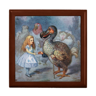 Alice in Wonderland Dodo Gift Trinket Box