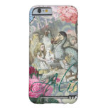 Alice in Wonderland Dodo  Vintage Pretty Collage Barely There iPhone 6 Case