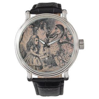 Alice (In Wonderland) Dodo Vintage Strap Watch