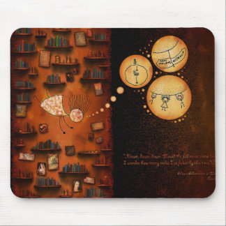 Alice in Wonderland-Down The Rabbit-Hole Mouse Pad