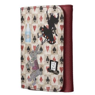 Alice in Wonderland Down the Rabbit Hole Wallet
