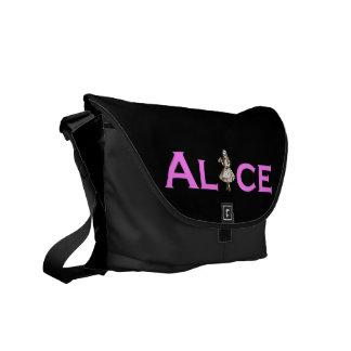 Alice in Wonderland Drink Me Courier Bag