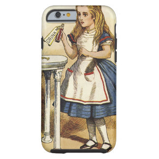 Alice in Wonderland Drink Me iphone 6 Tough iPhone 6 Case