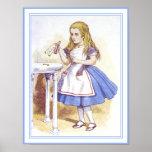 Alice in Wonderland - Drink Me Poster