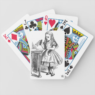 Alice in Wonderland - Drink Me Products! Bicycle Playing Cards