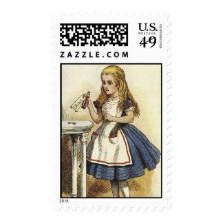 Alice in Wonderland Drink Me Stamp
