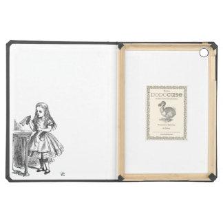Alice in Wonderland Drink Me vintage goth emo iPad Air Covers