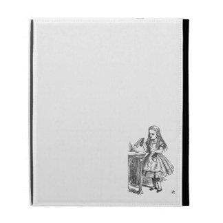 Alice in Wonderland Drink Me vintage goth emo iPad Case