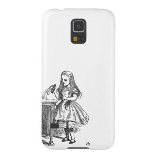 Alice in Wonderland Drink Me vintage goth print Case For Galaxy S5