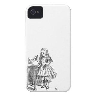 Alice in Wonderland Drink Me vintage goth print iPhone 4 Case-Mate Cases