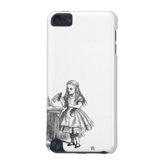 Alice in Wonderland Drink Me vintage goth print iPod Touch (5th Generation) Case