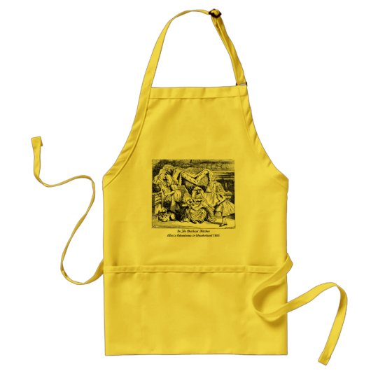 Alice in Wonderland Duchess Kitchen Apron