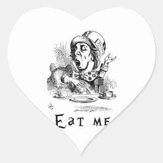 Alice in Wonderland - Eat me Heart Sticker