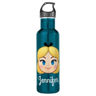 Alice In Wonderland Emoji Stainless Steel Water Bottle