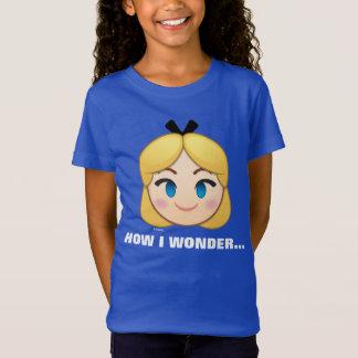 Alice In Wonderland Emoji T-Shirt