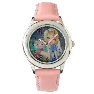 Alice in Wonderland Fairytale Cute Girly Watch