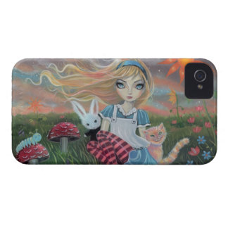 Alice in Wonderland Fairytale Fantasy Art iPhone 4 Case