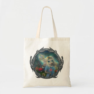 Alice in Wonderland Fantasy Art Fairytale Tote