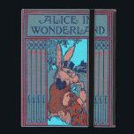 "Alice In Wonderland Featuring &#39;The Rabbit&#39; iPad Folio Case<br><div class=""desc"">A rare version of Alice In Wonderland by Lewis Carroll.</div>"