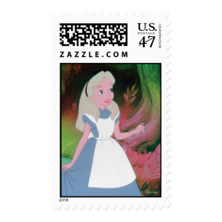 Alice in Wonderland Film Still 1 Postage