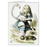 Alice in Wonderland: Flamingo Cards