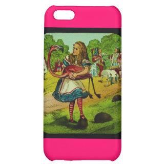 Alice in Wonderland Flamingo Croquet iPhone 5C Case