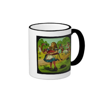 Alice in Wonderland Flamingo Croquet Mug