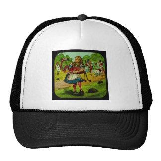Alice in Wonderland Flamingo Croquet Trucker Hat