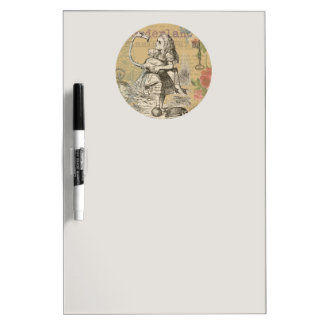 Alice in Wonderland Flamingo Mad Tea Party Dry-Erase Board